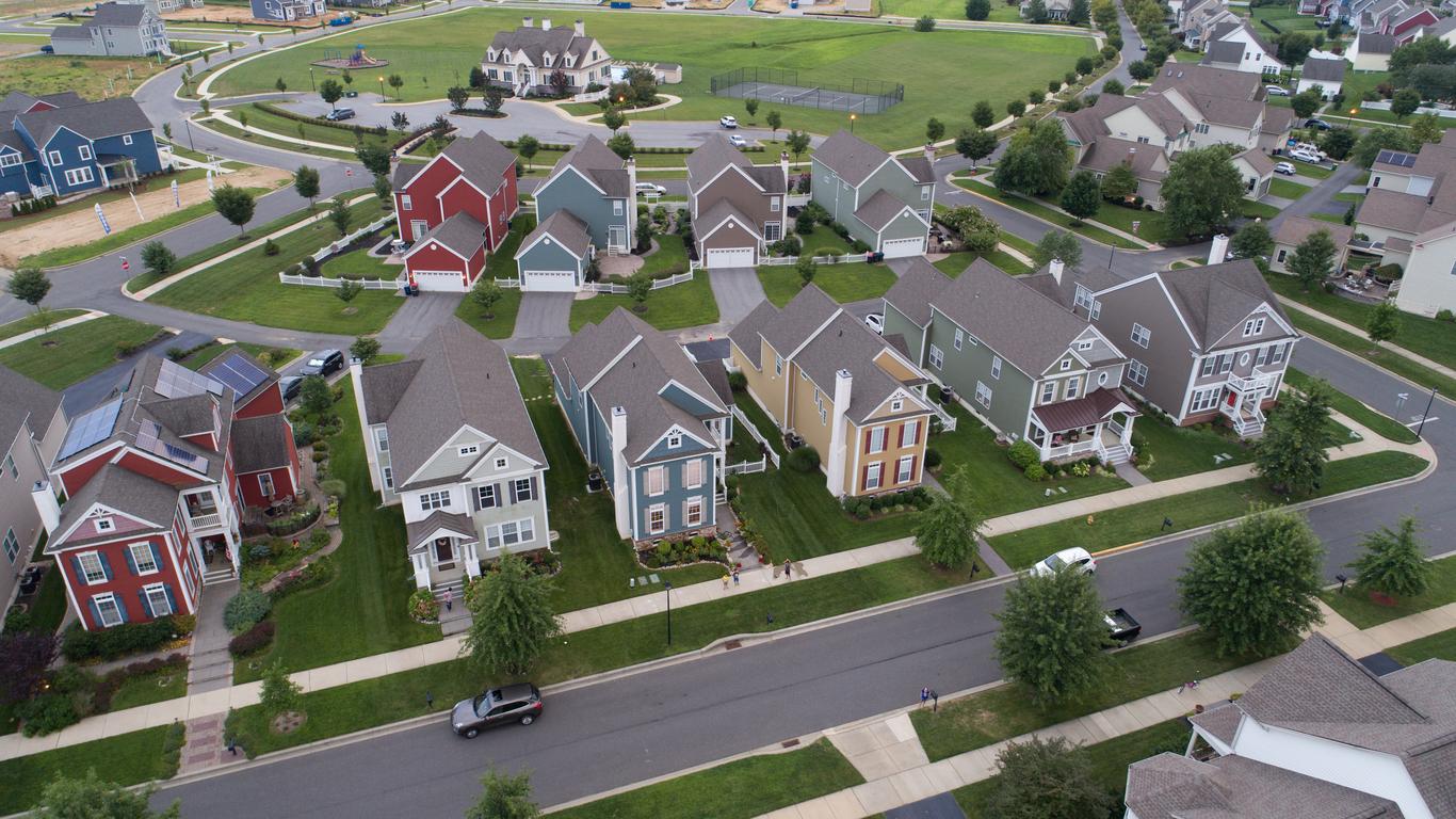 Homes at an HOA